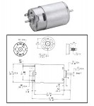 CMO-1200 - DC Permanent Magnet Motor